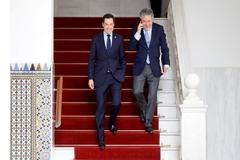 El presidente de la Junta, Juanma Moreno, este viernes en el Parlamento andaluz.