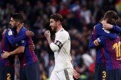 FILE PHOTO: La Liga Santander - lt;HIT gt;Real lt;/HIT gt; lt;HIT gt;Madrid lt;/HIT gt; v FC lt;HIT gt;Barcelona lt;/HIT gt;
