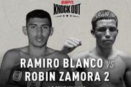El cartel de ESPN para anunciar la pelea en Managua.