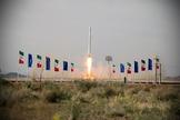 Primer satélite militar lanzado por Irán.
