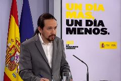 El vicepresidente Pablo Iglesias.