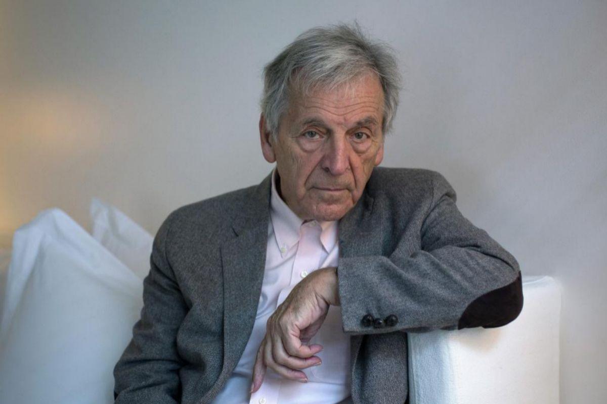 El director de cine francés de origen griego Costa-Gavras.