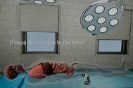 Captura de la plataforma de realidad virtual creada por Innoarea para estudiantes de enfermería y medicina.