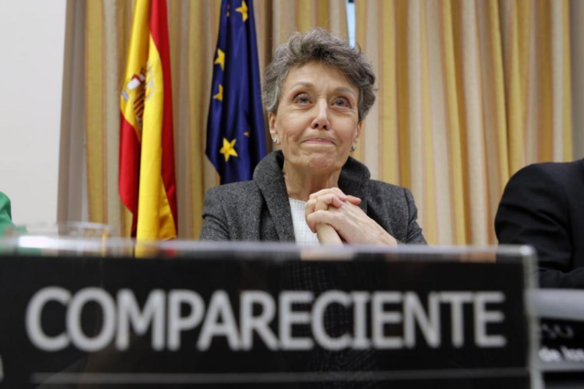 El PSOE congela las comparecencias parlamentarias de Rosa María Mateo
