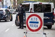 La Policía Nacional, Policía Local y la Guardia Civil siguen controlando el cumplimiento estricto del decreto de estado de alarma.