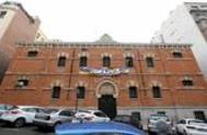 El edificio okupado por La Ingobernable en la calle Alberto Bosch, del que ha sido expulsado.