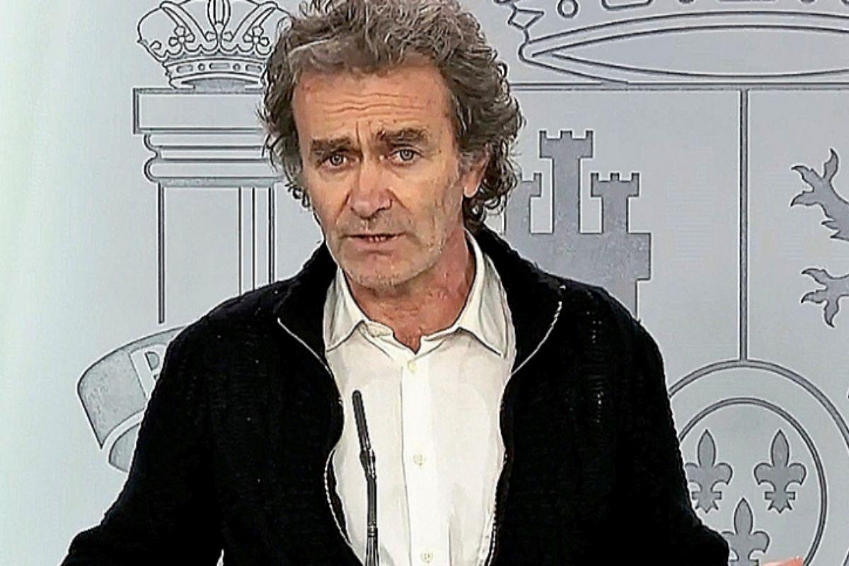 Fernando Simón, durante una de sus comparecencias. EFE