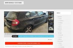 Anuncio de venta del BMW 120 de la ex alcaldesa de Marbella, Marisol Yagüe.