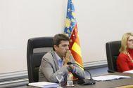 El presidente de la Diputación de Alicante Carlos Mazón.