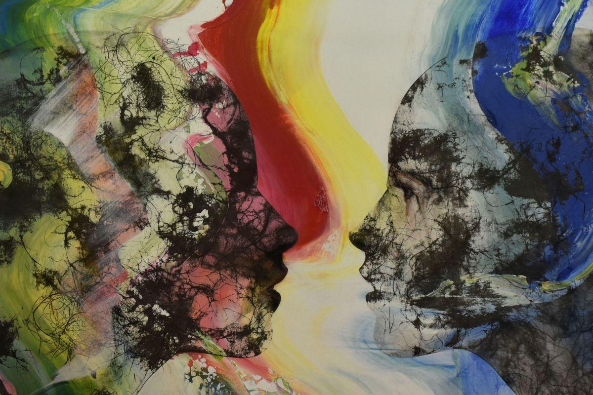 Detalle de una obra de Rafa Martínez que forma parte de la exposición.