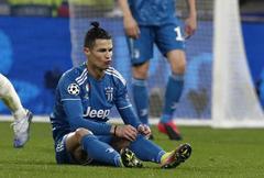 Cristiano Ronaldo, durante uno de los últimos partidos de la Juventus.