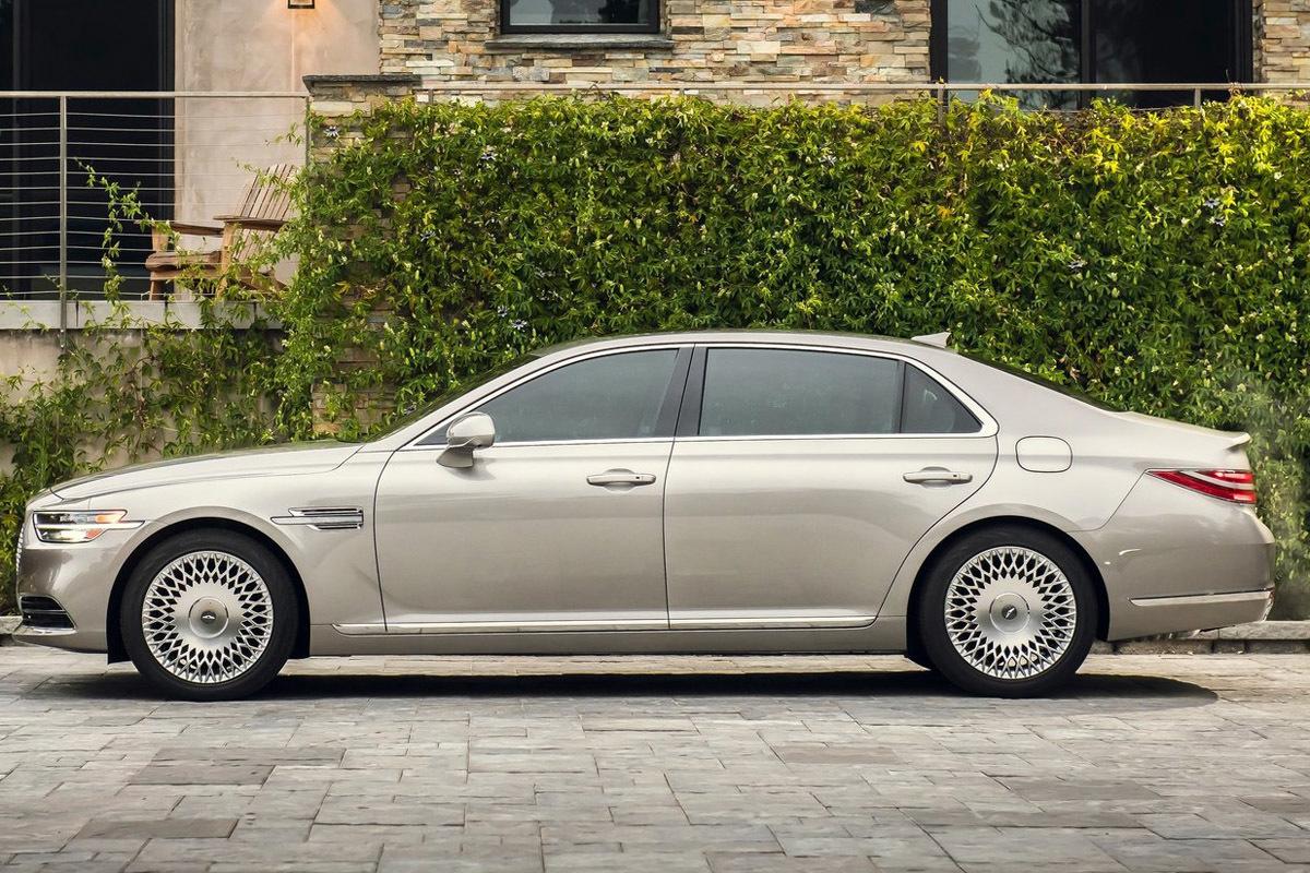 El modelo más lujoso y de mayor tamaño: el G80