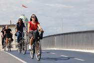 Más de 40.000 personas al día circulan en bicicleta por el puente de la Reina Luisa de Copenhague para ir a trabajar, según el ránking más completo de ciudades <em>bike friendly</em>, el  Copenhagenize Index.  Pero no es esta cifra la que convierte a la capital danesa en el número uno mundial del pedaleo desde 2015. Es el volumen de la  inversión en infraestructura, la innovación y el fomento de la cultura de la bicicleta en el paisaje urbano.
