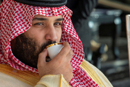 El príncipe heredero saudí, Mohamed bin Salman, en 2018.