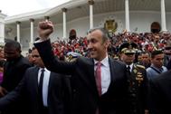 Tareck El Aissami, nuevo ministro del petróleo de Venezuela.