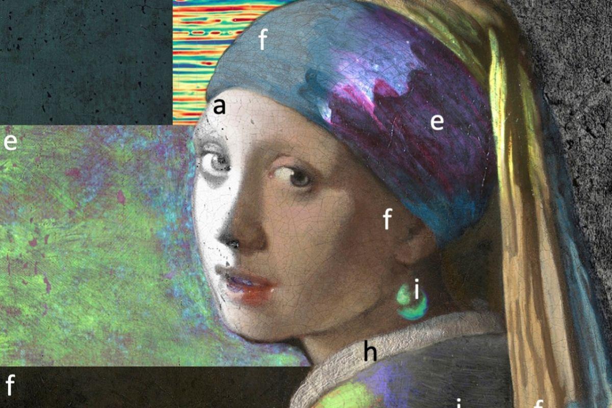 Vista de la investigación científica realizada en La Haya de 'La joven de la perla'.