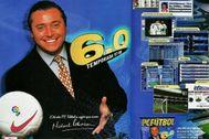 Michael Robinson y PC Fútbol: así se 'colaron' en 600.000 hogares