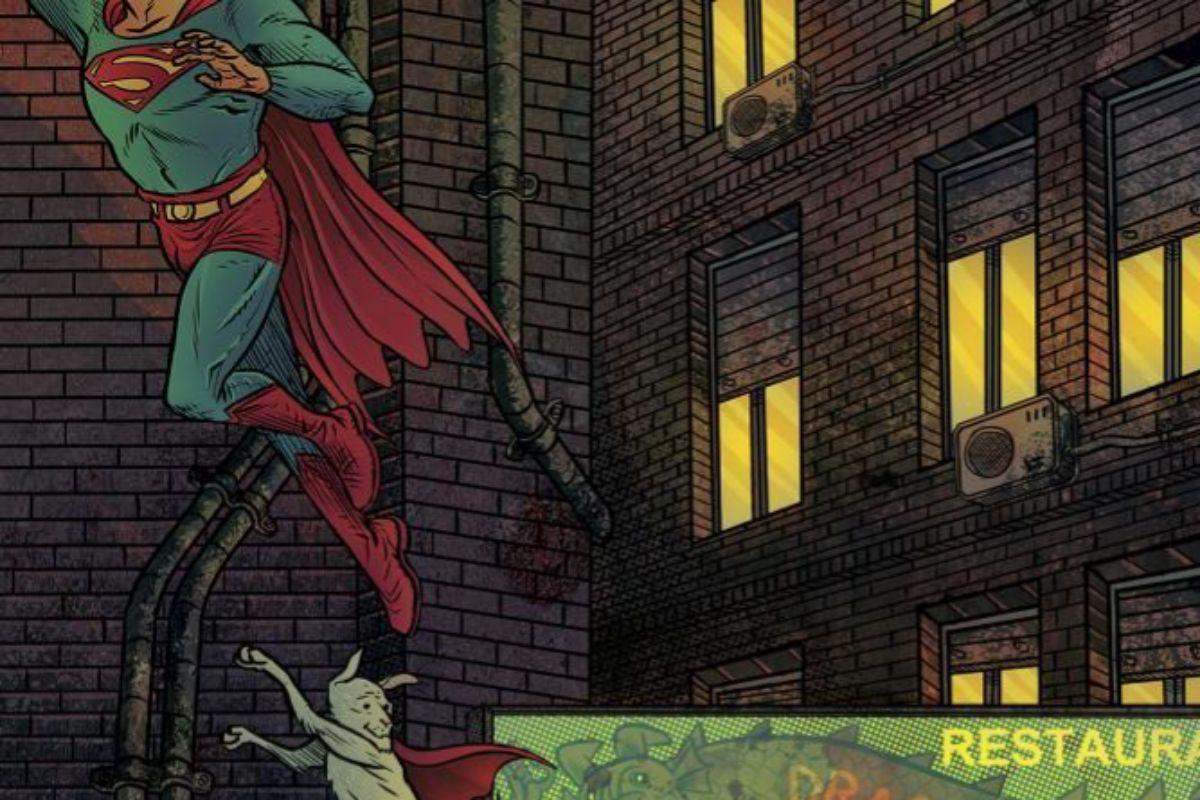 Portada del Superman de Rubín.