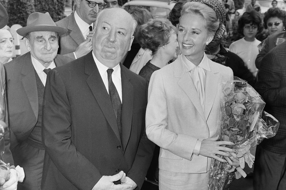 Hitchcock y Hedren, en el Festival de Cannes.