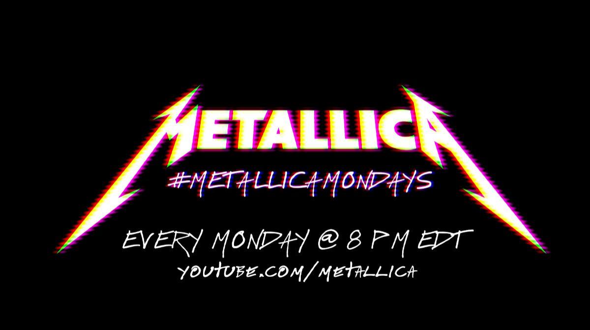 Imagen de la iniciativa de Metallica durante el confinamiento.