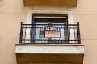 Pisos en alquiler en el barrio de Las Huertas, en Madrid.