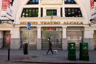 lt;HIT gt;Bernardo lt;/HIT gt; Díaz. 29/04/2020. Madrid. España. COVID-19. Nuevo lt;HIT gt;Teatro lt;/HIT gt; Alcalá. lt;HIT gt;Teatros lt;/HIT gt; cerrados por crisis Coronavirus