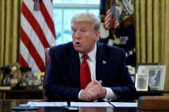 """Trump dice que China """"hará todo lo que pueda"""" para que no sea reelegido"""