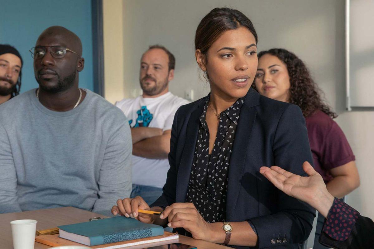 Zita Hanrot en 'Los profesores de Saint-Denis'.