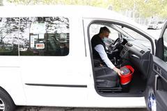 """Ruina, frustración y desinfecciones diarias del taxi: """"No hay trabajo, es desastroso"""""""