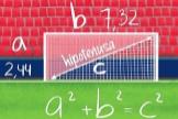 ¿Sabrías explicar el teorema de Pitágoras en una portería de fútbol?