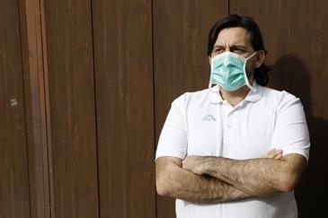Jacobo Cabañas es el ejemplo de infectado atípico con Covid-19.