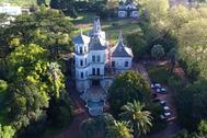 El Castillo Idiarte Borda, al norte de la ciudad de Montevideo, Uruguay.