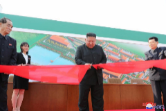 Primera aparición pública del líder   Kim Jong-un en casi 3 semanas