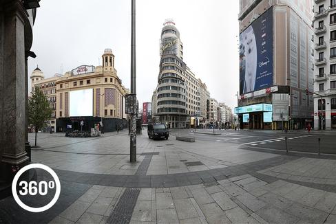 Madrid vacía: Para que la vida triunfe