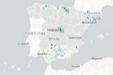 El mapa de incidencia del Covid-19, municipio a municipio