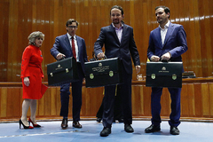 La coalición PSOE-Unidas Podemos obligó a que el Ministerio de Sanidad, que comandaba María Luisa Carcedo, fuera troceado en tres.