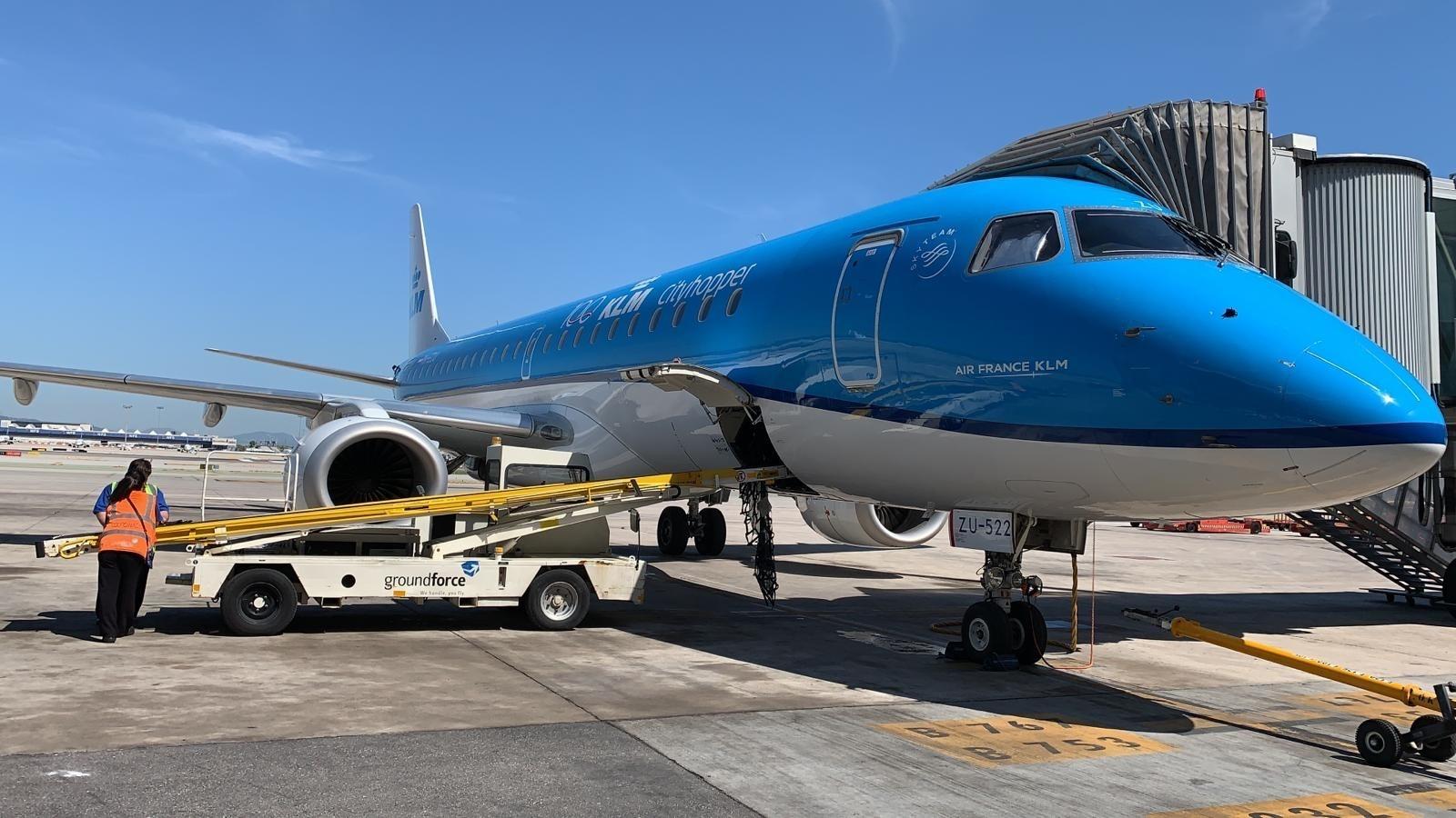 KLM retoma los vuelos en ocho ciudades europeas.