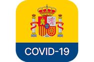 Icono de la app oficial para rastrear casos de COVID-19.