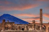 Pompeya: así muestra un dron los nuevos hallazgos de la ciudad sepultada por el Vesubio