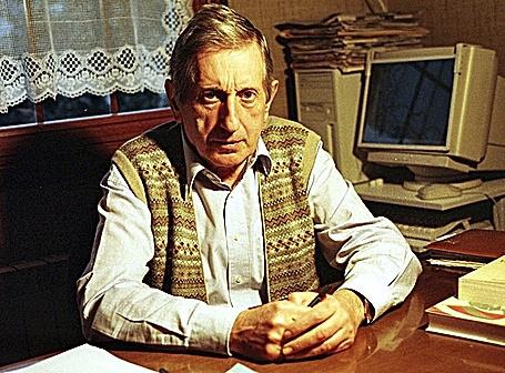 El columnista de EL MUNDO José Luis López de Lacalle, asesinado pro ETA.
