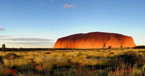 Ayers Rock, también conocido como Uluru.