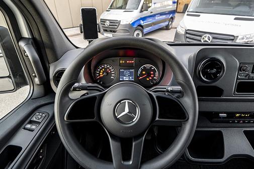 El programa de Mercedes Benz Vans abarca un amplio abanico de servicios al cliente.