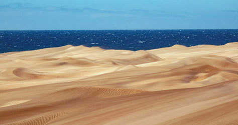 Las dunas han vuelto a su estado original.