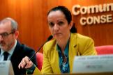 La ya ex directora de Salud Pública de Madrid, Yolanda Fuentes.