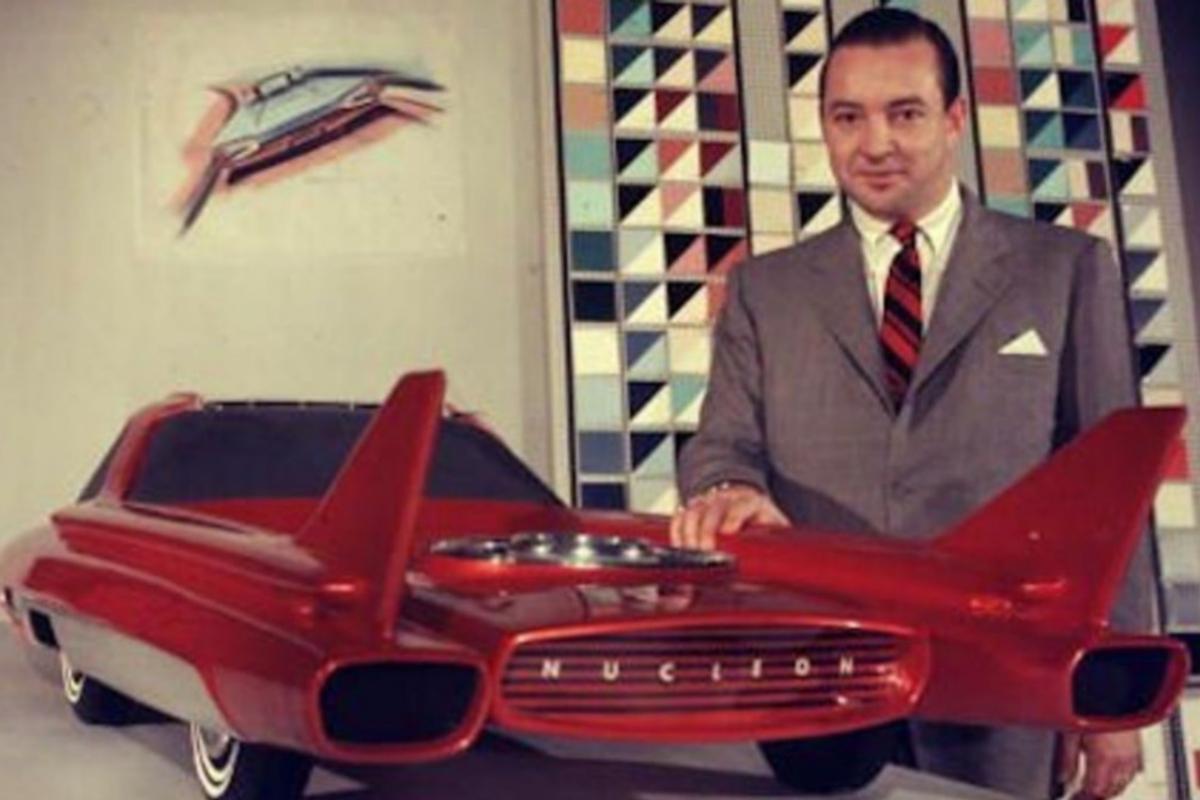 La maqueta del Ford Nucleon