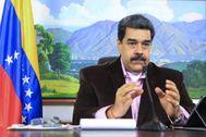 Nicolás Maduro, durante una entrevista con la televisión Telesur.