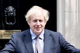 El primer ministro Boris Johnson, en el 10 de Downing Street.