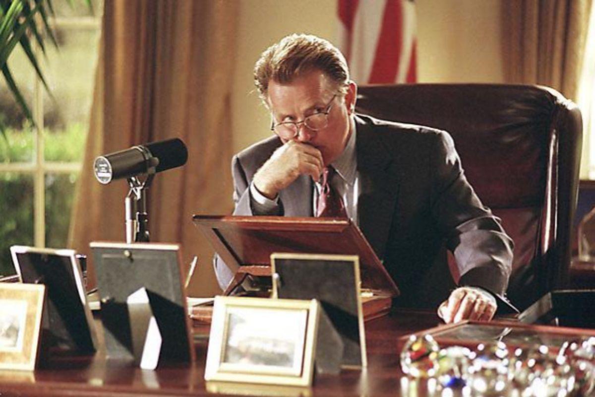 Martin Sheen en una escena de 'El ala oeste de la Casa Blanca'.