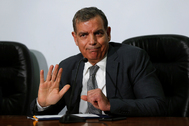 Saad Jaber, ministro de Sanidad jordano.