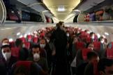 Imagen compartida en redes sociales del avión.
